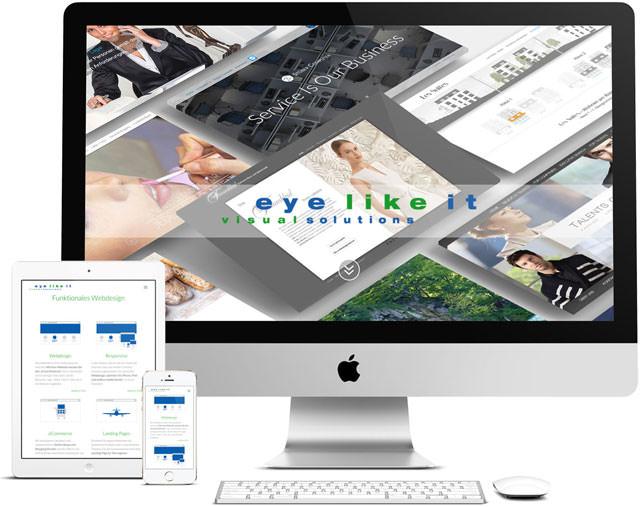 Responsive Webdesign – verschiedene Layouts für Desktop, Notebook, Tablet und Smartphone